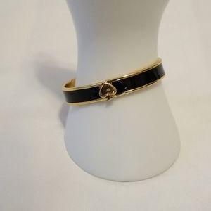 kate spade Black and Gold Bracelet